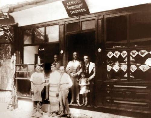 Primul magazin de chebap al lui Iskender Efendi, 1867. Sursa foto: tripadvisor.com.tr