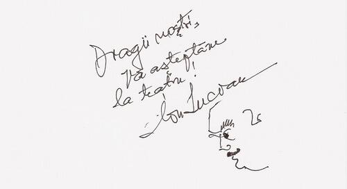 Autograf Ion Lucian