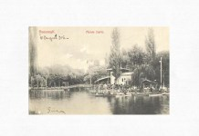 Grădina Cișmigiu prin 1906. Sursa foto: Biblioteca Digitală a Bucureștiului