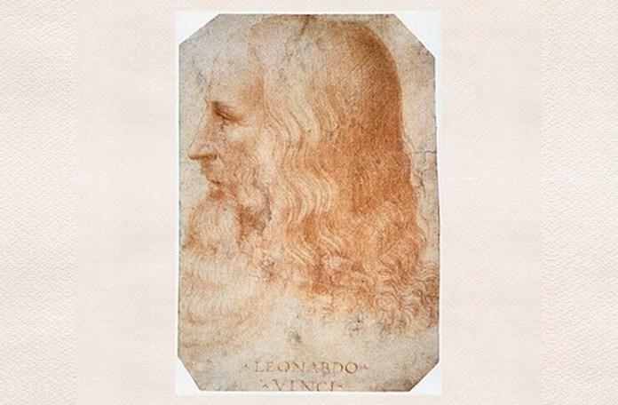 Leonardo da Vinci, portret de Francesco Melzi, cca 1516
