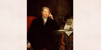 Edward Jenner, portret de James Northcote, 1803 sau 1823