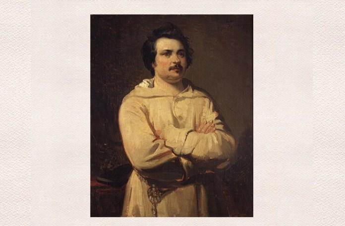Honoré de Balzac, portret de Louis Boulanger, Musée des Beaux-Arts de Tours