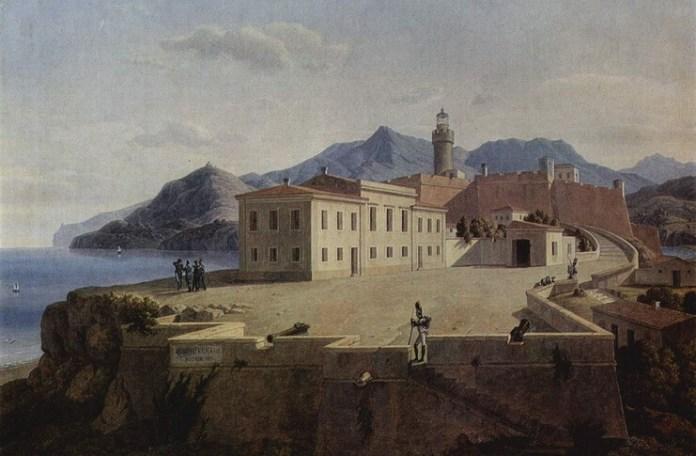 """Leo von Klenze, """"Insula Elba"""", 1839"""