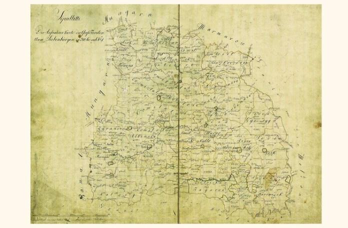 Marele Principat al Transilvaniei, în hărțile iozefine, 1769-1773
