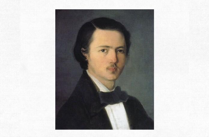 Nicolae Grigorescu, Autoportret, cca 1857, Muzeul Național de Artă al României