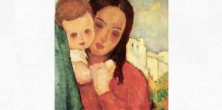 """Nicolae Tonitza (1886–1940), """"Mama și copilul"""""""