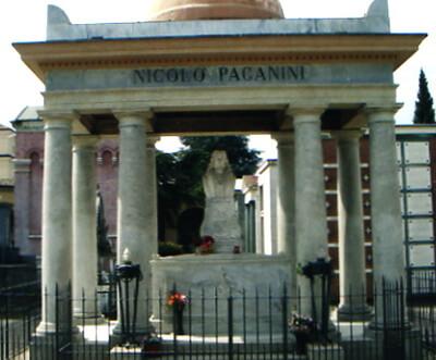 Paganini monument funerar
