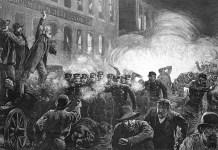Piaţa Haymarket, 4 mai 1886