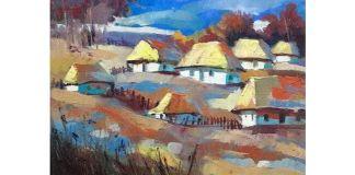"""Silvia Onișa, """"Satul pe deal"""""""