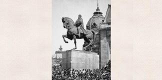 Statuia lui Carol I de Ivan Meštrović. Sursa foto: Wikipedia