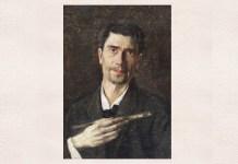 """Ștefan Luchian, """"Un zugrav"""", autoportret, între 1905–1907, Muzeul Național de Artă al României"""