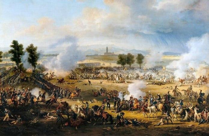 """Louis-François, Baron Lejeune, """"Bătălia de la Marengo"""", 1802, Palatul Versailles"""