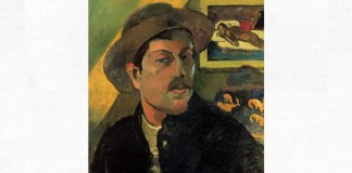 Paul Gauguin, Autoportret, 1893