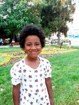 Alma Guedenon, 5 ani