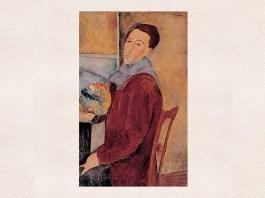 """Amedeo Modigliani, """"Autoportret"""", 1919"""