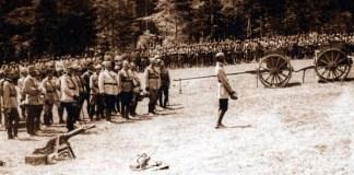 Mărășești, 1917