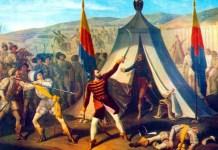 """Constantin Lecca, """"Moartea lui Mihai Viteazul"""", 1845. Muzeul Național de Artă al României"""