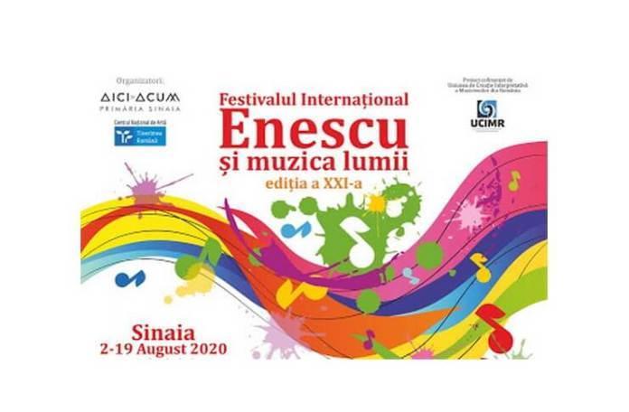 Festivalul international Enescu și muzica lumii afis