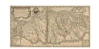 Harta Țării Românești întocmită de Anton Maria Del Chiaro, 1718 (1) (1)