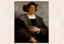 Sebastiano del Piombo, Portrait de bărbat, bănuit a fi Christofor Columb, 1519