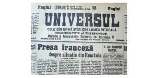 """Ziarul """"Universul"""", 1928"""