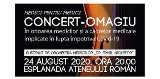 concert omagiu medici coronavirus