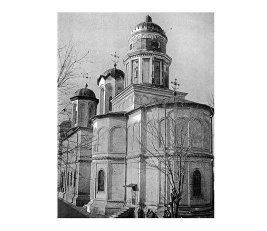 Biserica Mănăstirii Văcărești în 1906