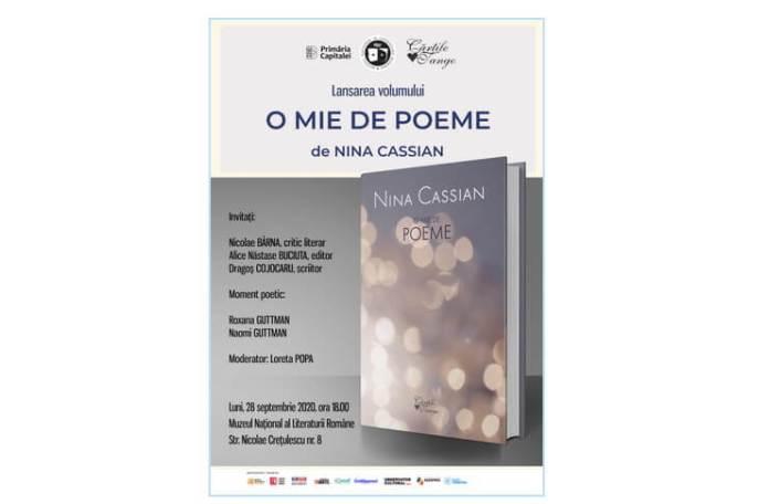 Lansare-Nina-Cassian_28-septembrie 2020