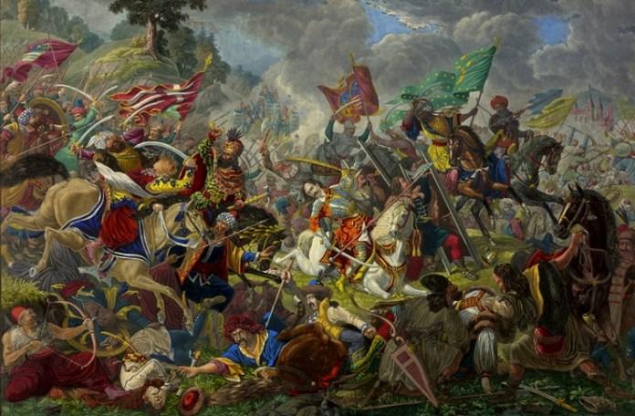"""Eduard Gurk, """"Bătălia de la Câmpul pâinii"""", secolul al XIX-lea"""