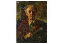"Rudolf Schweitzer-Cumpăna, ""Autoportret"". Sursa foto: IRCCU Veneția"