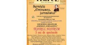 seratele eminescu jurnalistul uzpr