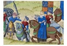 """Moartea lui Wat Tyler"", cca 1385–1400"