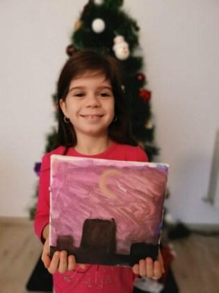 Sarah Negraru, 6 ani