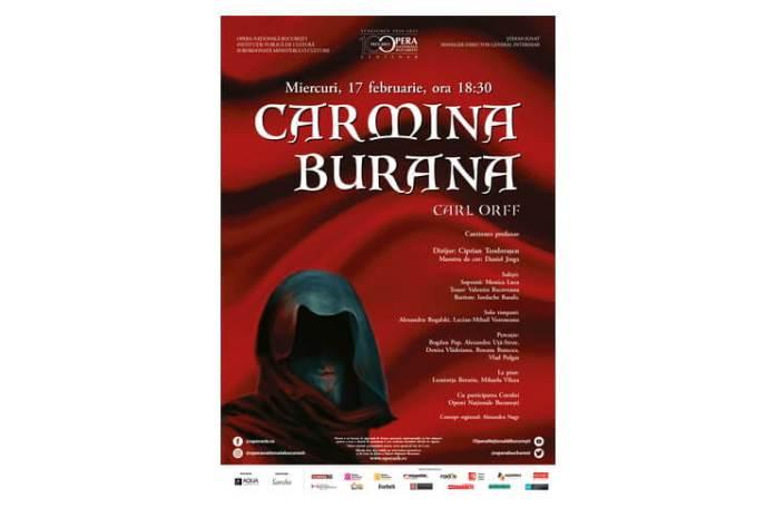 Afis Carmina Burana 17.02 ONB
