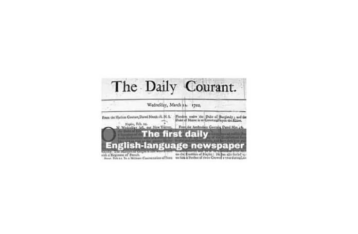 """""""Daily Courant"""""""