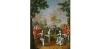 "Johann Georg Weikert, ""Triumful dragostei"", cca 1765"