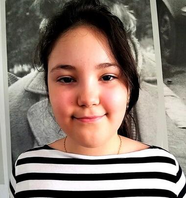 """Maria Ţarălungă, 9 ani, Şcoala Gimnazială """"Mihai Eminescu"""", Brăila"""