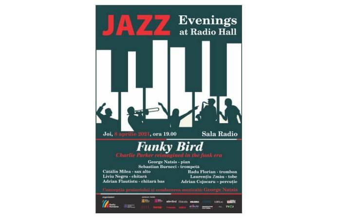 Afis Jazz 8 aprilie 2021 Sala Radio