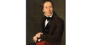 Hans Christian Andersen, portret de Christian Albrecht Jensen, 1836