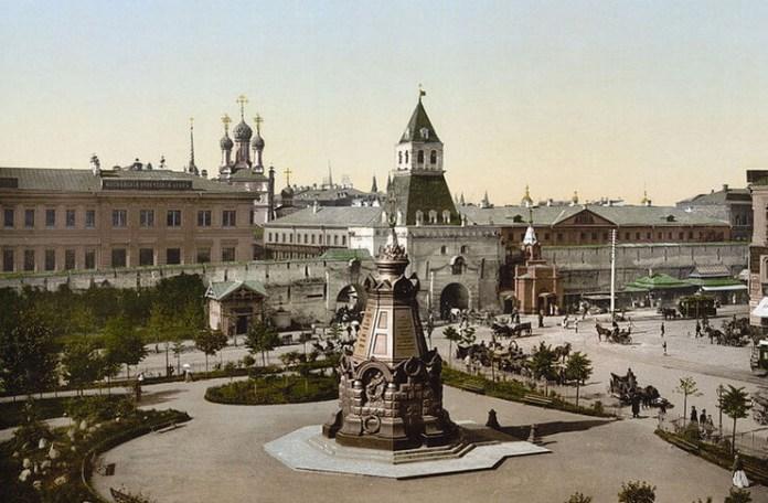 Monumentul bătăliei de la Plevna, Moscova, carte poștală