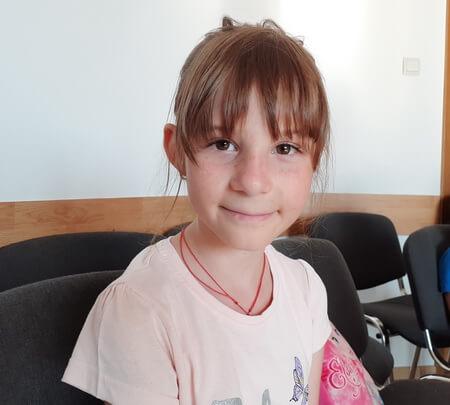 Alexia Negoiţă, 8 ani