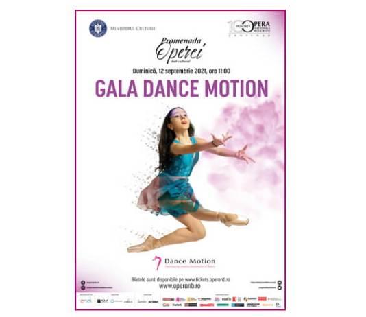 Afis Gala Dance Motion