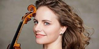 """Julia Fischer. Credit foto: Uwe Arens. Sursa: Festivalul """"Enescu"""""""