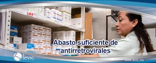 Abasto suficiente de antirretrovirales