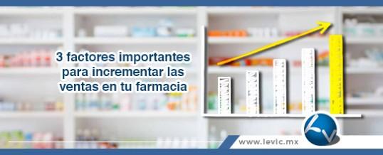 3 factores importantes para incrementar las ventas 🤑 en tu farmacia 🏥
