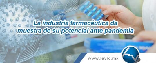 La industria farmacéutica da muestra de su potencial ante pandemia