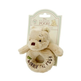 Hundred Acre Wood: Winnie the Pooh Ring Rattle - LeVidaBaby