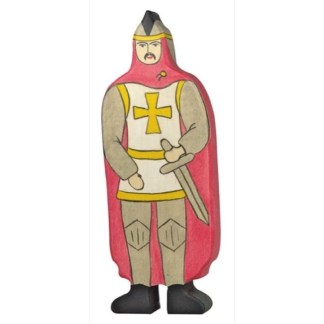 Knight with Red Cloak - Holztiger 80244