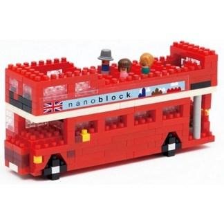 London Tour Bus - Nanoblock NBH-080