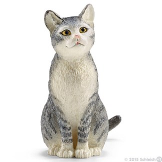 Cat, sitting - Schleich 13771